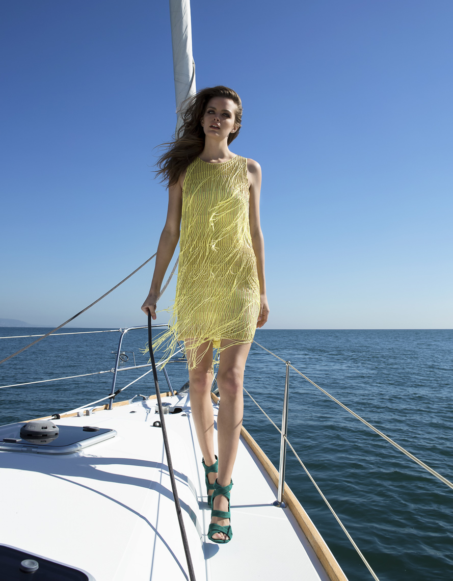 Boat Fashion Photographer