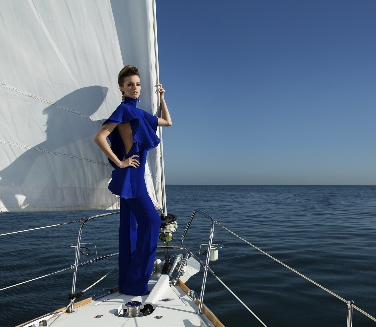 On Fashion Boat Photography