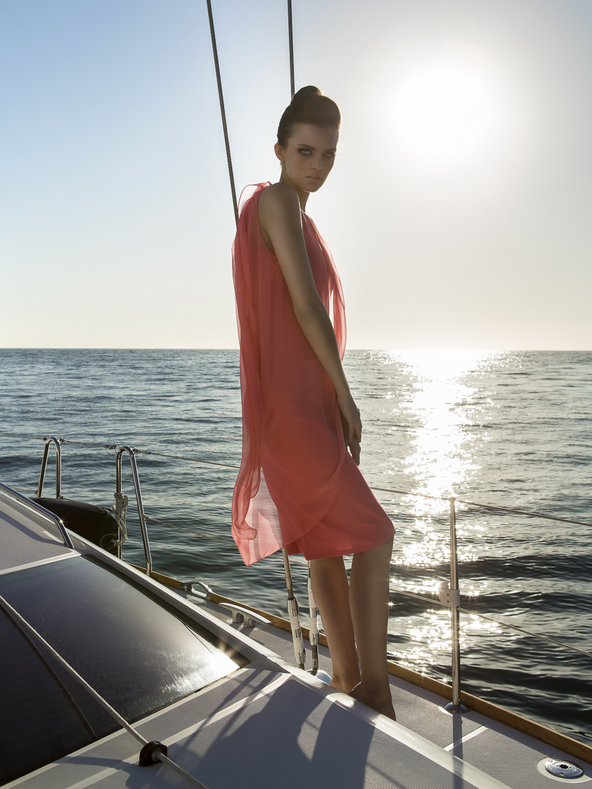 Fashion Photography Boat Shoot
